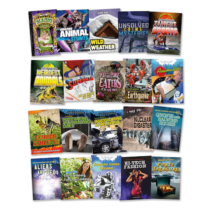 KS3 Recreational Reading Book Pack 20pk  large