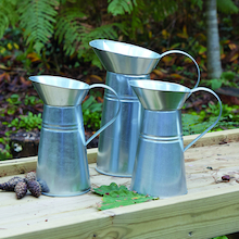 Metal Jugs 3pcs  medium