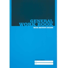 A4 Squared Workbooks with Drywipe Cover 25pk  medium