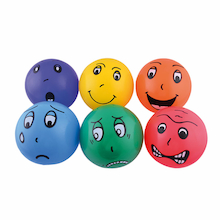 Fun Faces Balls 20pk  medium