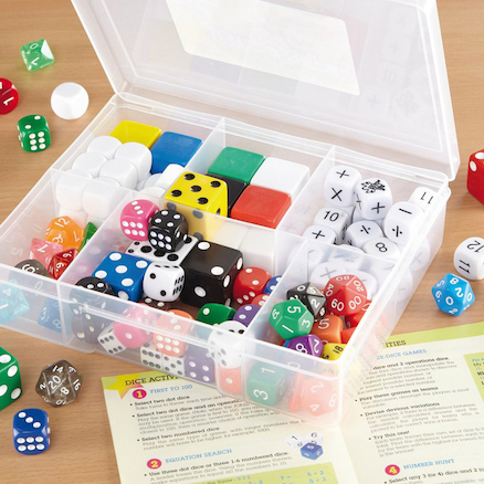 Classroom Dice Set 105pcs  large