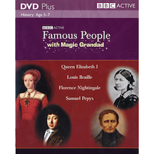 Famous People With Magic Grandad BBC CD ROM  medium