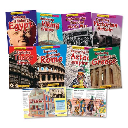 LKS2 History Explorer Books 9pk  large