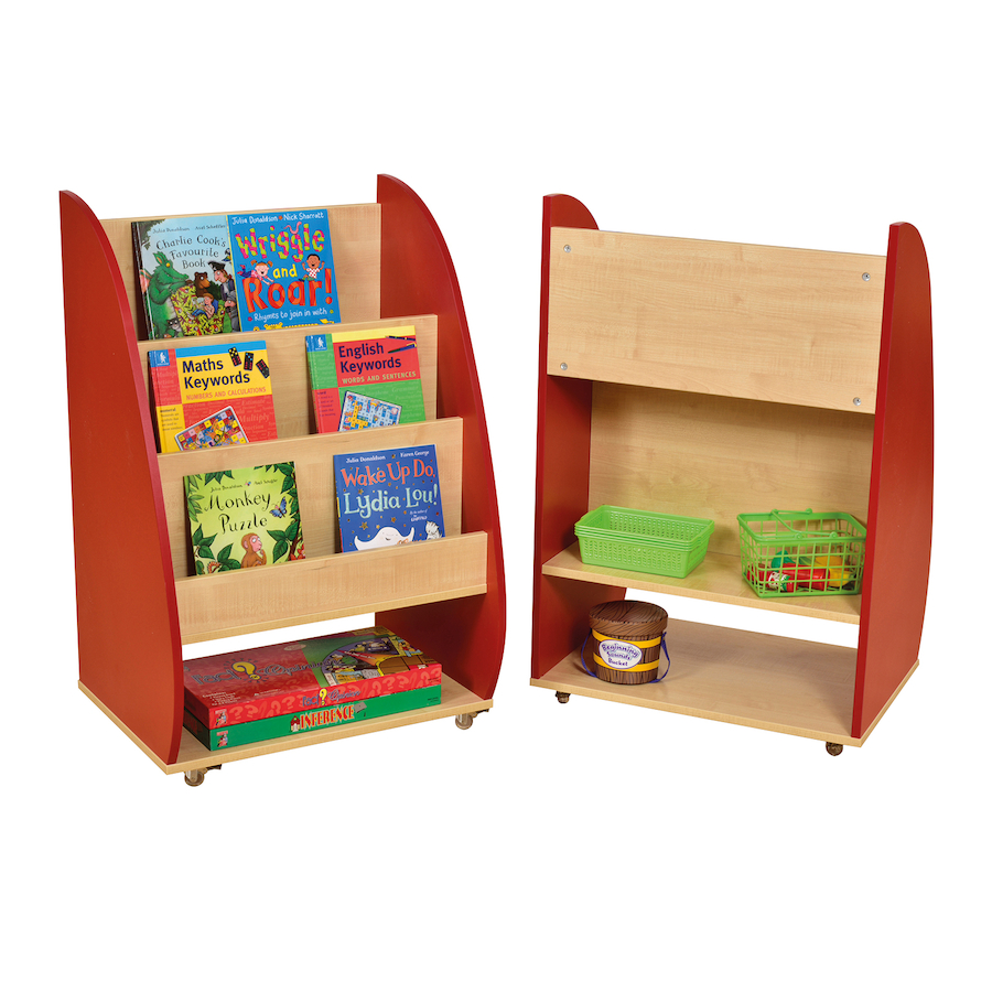 ... Double Sided Mobile Bookcase small ... - Buy Double Sided Mobile Bookcase TTS