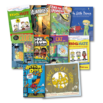 Graphic Novels 10pk  large
