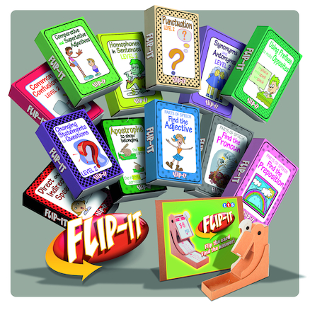 Flip-It KS3 SPaG Activity Card Set  large
