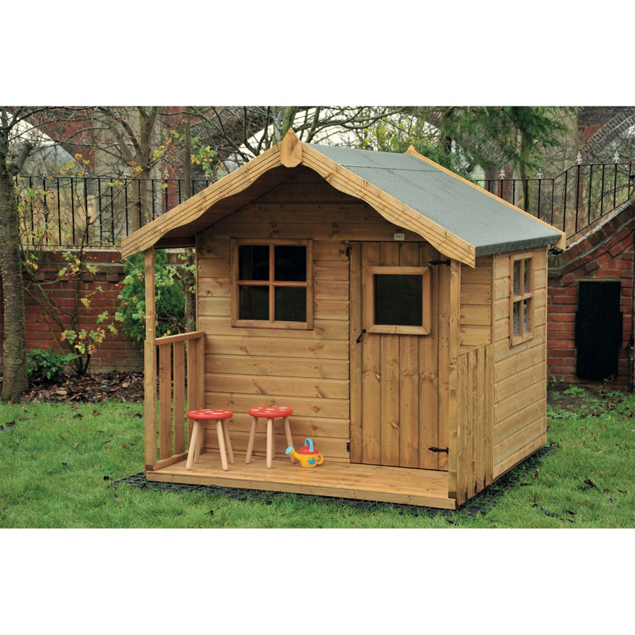 Outdoor Wooden Playhouse Kids