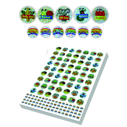 Assorted Bug and Minibeast Stickers 3930pk  large