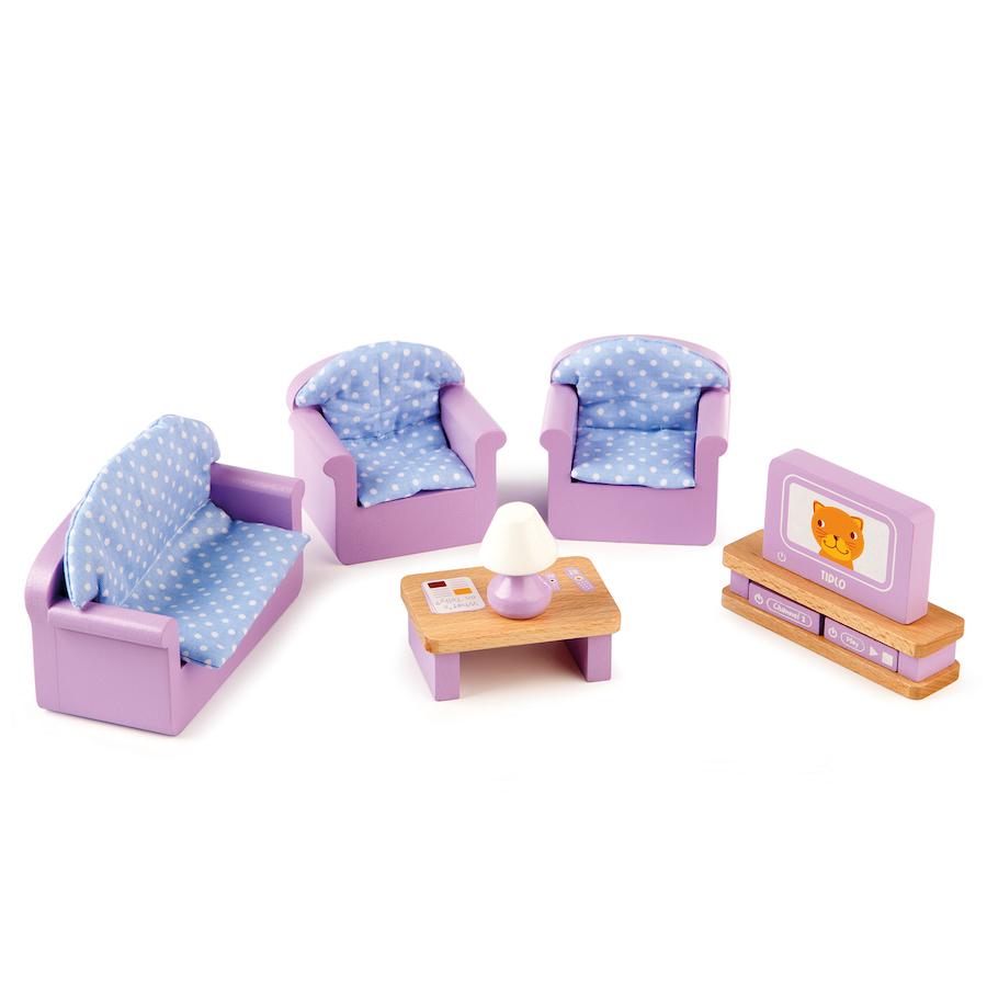 Dolls house at argos co uk your online shop for dolls houses dolls -  Small World Dolls House Furniture Set 40pcs Small Tts School Resources Online Shop