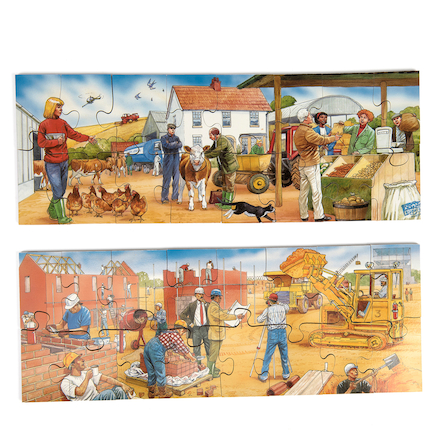 Discussion 20 Piece Jigsaw Puzzles 3pk  large
