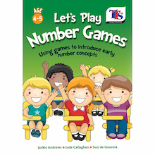 Let's Play Number Games Activity Book  medium