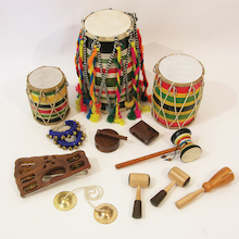 Indian Percussion Instruments Pack  medium