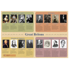 Great Britons Posters A1  medium