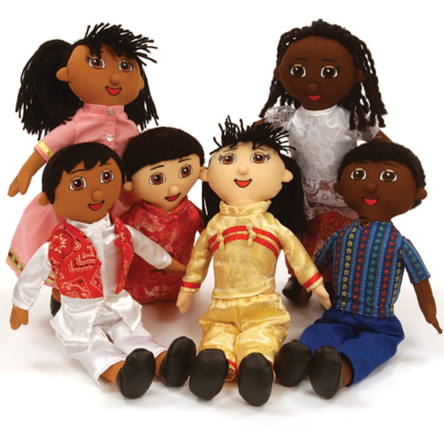 Buy Soft Body Fabric Multicultural Diversity Dolls Tts