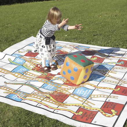 Eco Snakes and Ladders Outdoor Game  large