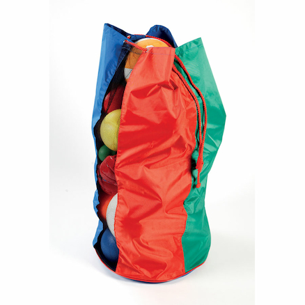 Multicoloured Ball Carry Sack 12 Ball  large