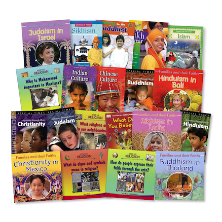 KS2 Faith and Relegion Books 20pk  large