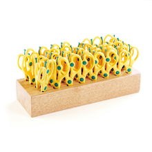 Springy Scissors and Storage Block 32pk  medium