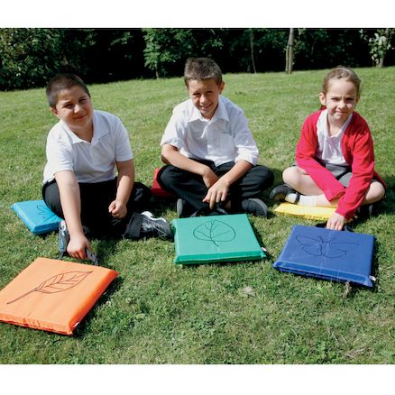 Outdoor Floor Cushions 6pk  large