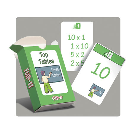 Flip-it Top Times Tables  large