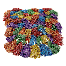 Glittery Dance Pom Poms  medium