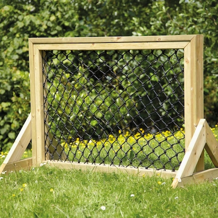 Outdoor Weaving Net in Wooden Frame  large