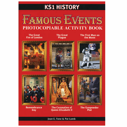 Famous Events Activity Book  large
