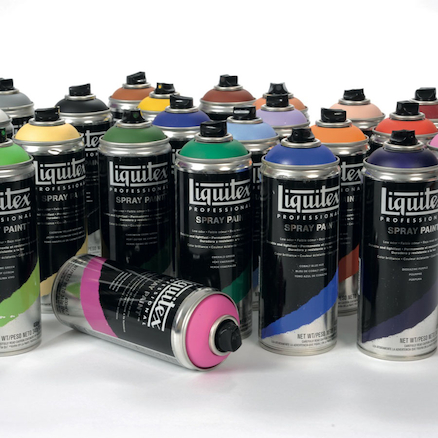 Liquitex Workshop Spray Paint Kit 400ml  large