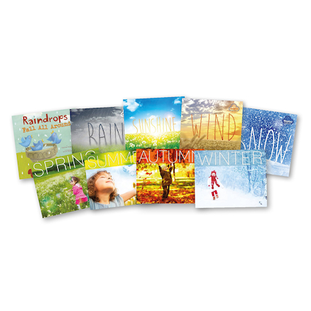 Early Years Seasons and Weather Pattern Books 10pk  large