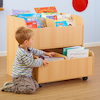 Book Storage Unit with Trolley  small