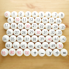 Maths Number and Operations Ping Pong Balls 61pk  medium