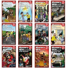 Mystery Mob Reluctant Reader Books 24pk  medium