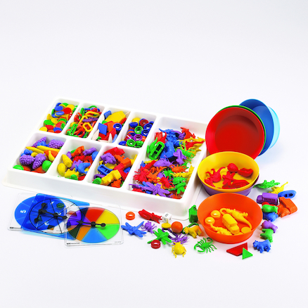 Super Coloured Sorting Set 620pk  large
