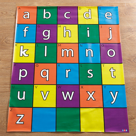 Bee-Bot® and Blue-Bot Alphabet Mat  large