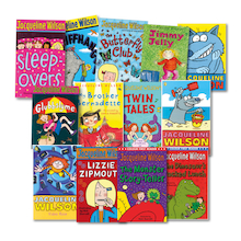 Jacqueline Wilson Author Books 15pk  medium