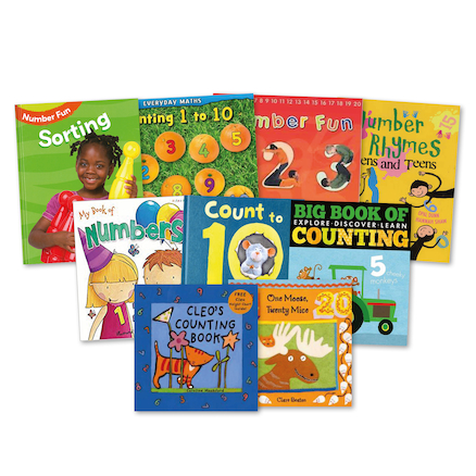 Early Years Counting Number Books 9pk  large