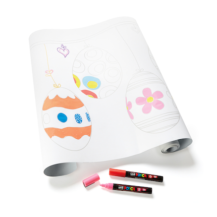 Easter Activity Poster Paper Roll 10m  large