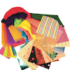 Assorted Textured Fabric Bundle  small