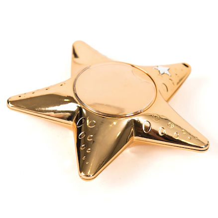 Recordable Talking Metallic Gold Star Rewards 6pk  large