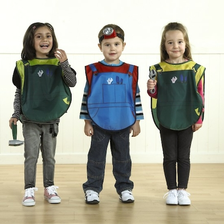Garage Worker Role Play Tabards 3pcs  large