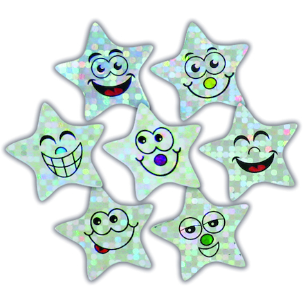 Sparkly Star Stickers 245pk  large