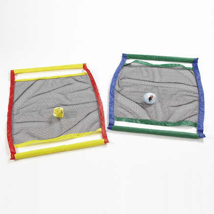 Throw and Catch Net Ball Game 2pk  large