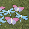 Number Butterflies and Dragonflies 10pk  small