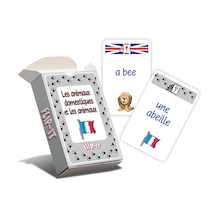 Flip-It Pets and Animals French Cards  medium