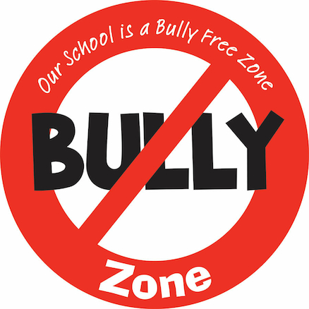 Bully Free Zone Sign  large