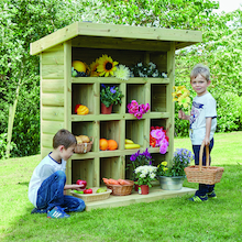 Outdoor Wooden Storage Unit W1.2 x H1.5m  medium