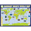 Barnaby Bear World Map A1  small