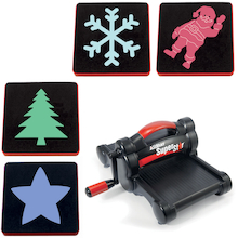 Die Cutting Machine and Christmas Die Pack  medium