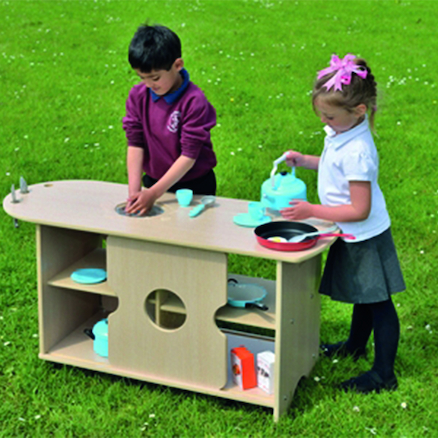 Outdoor Messy Play Role Play Kitchen  large