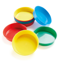 Sponge Dip Bowls Plastic Assorted 10pk  medium